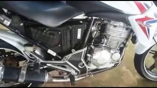 CB 300 com carburador