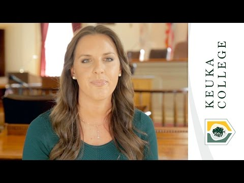Keuka College - Believe in What we Can Do Together, Jessica