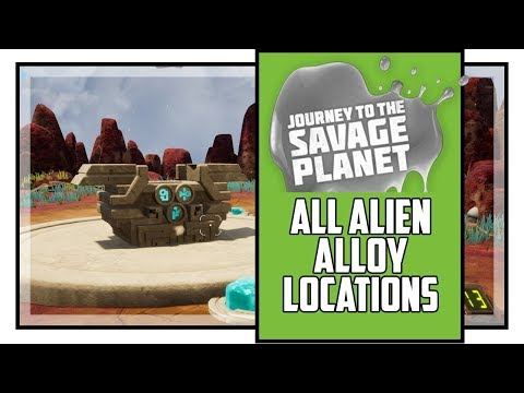 Journey To The Savage Planet All Alien Alloy Locations Metallurgist Quest