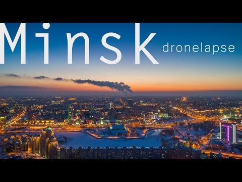 Minsk 2016. DroneLapse