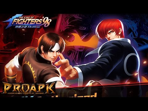 THE KING OF FIGHTERS'98 (KOF98) ULTIMATE MATCH ONLINE Gameplay Android / iOS - 동영상