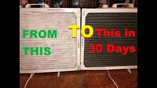 BUILD A SHOP AIR FILTRATION UNIT DIRT CHEAP! no pun intended :)