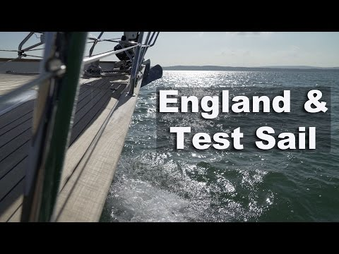 England & Discovery 55 Test Sail