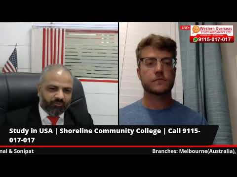 Shoreline Community College, USA Live Session