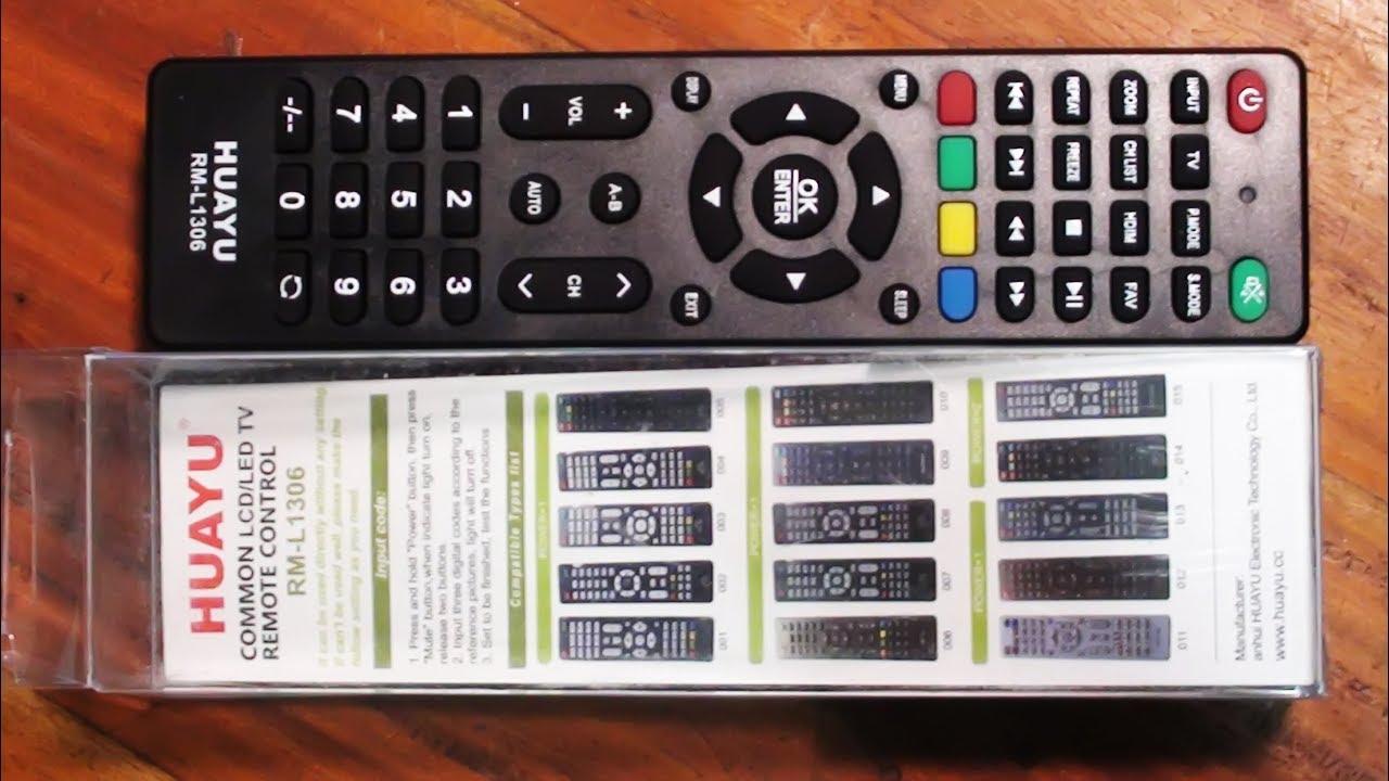 Lcd Led Tv Remote Setup Easy Method Pro Hack Youtube