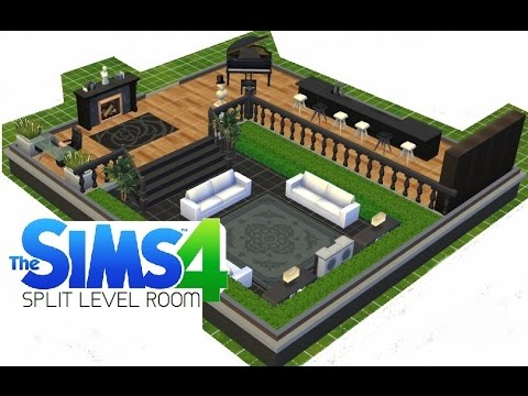 Sims 4 how to make a split level room youtube for How to make a second floor on sims freeplay