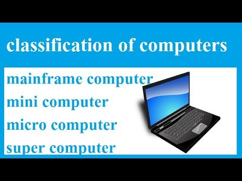 classification of computers    in hindi    d tech   