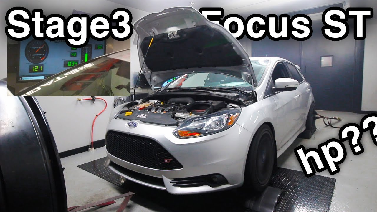 Stage3 Ford Focus St Dyno Test Dynamometer How Much Horsepower