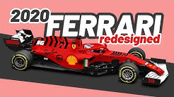 2020 Ferrari Formula 1 Car - REDESIGNED