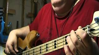Corey Hart Sunglasses At Night Bass Cover