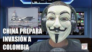 ALERTA ROJA: CHINA SE PREPARA PARA INVADIR COLOMBIA