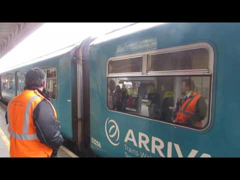 Arriva Trains Wales Class 150258 Departure Cardiff Central for Aberdare