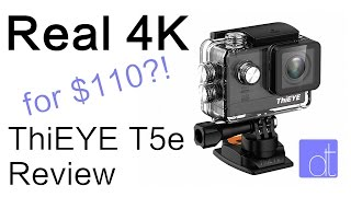 Real 4K for $110?! (ThiEYE T5e Review)