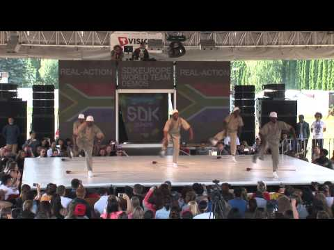 SDK EUROPE 2013 WORLD TEAM BATTLE-Real Action (South Africa)
