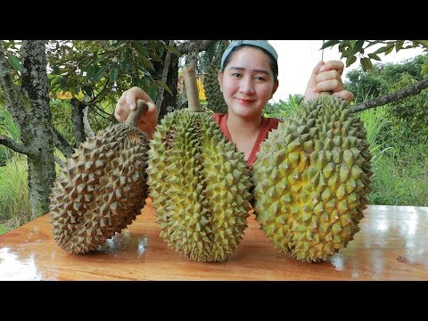 Yummy Durian Cream Dessert Cooking – Durian Dessert – Cooking With Sros