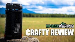 Crafty Vaporizer Review & Demo Session - VaporizerWizard.com