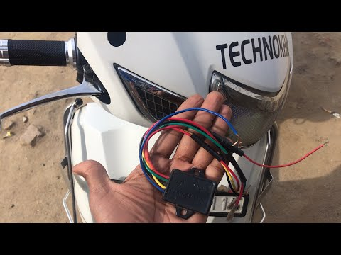 Musical Horns Relay Install in activa