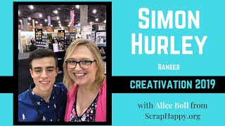 Simon Hurley with Ranger Creativation 2019