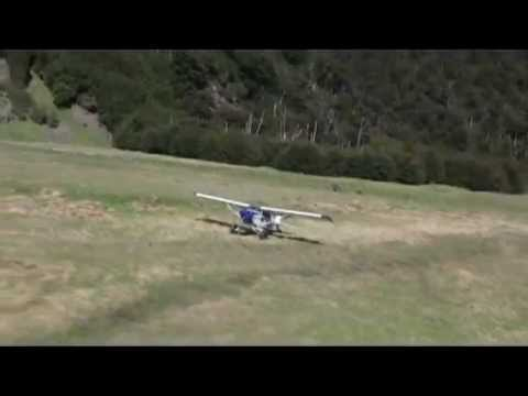 Pacer flying in Awesome New Zealand Backcountry