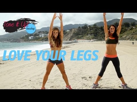 Love Your Legs Workout | Tone It Up Tuesdays