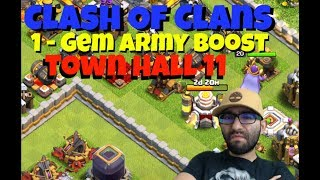 🔴 Clash of Clans // Maxing Out Town Hall 11 -Farming Dark Elixir // LiveStream