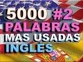 VOCABULARIO#2 -INGLÉS ESPAÑOL- CON PRONUNCIACIÓN - INGLÉS AMERICANO