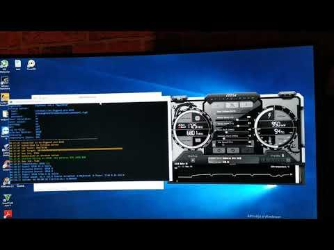 RTX2070   BTX Mining Hashrate   Equihash 144,5 Mining Speed RTX 2070