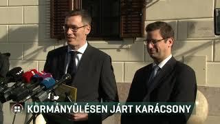 Karácsony először találkozott főpolgármesterként Orbán Viktorral 19-11-06