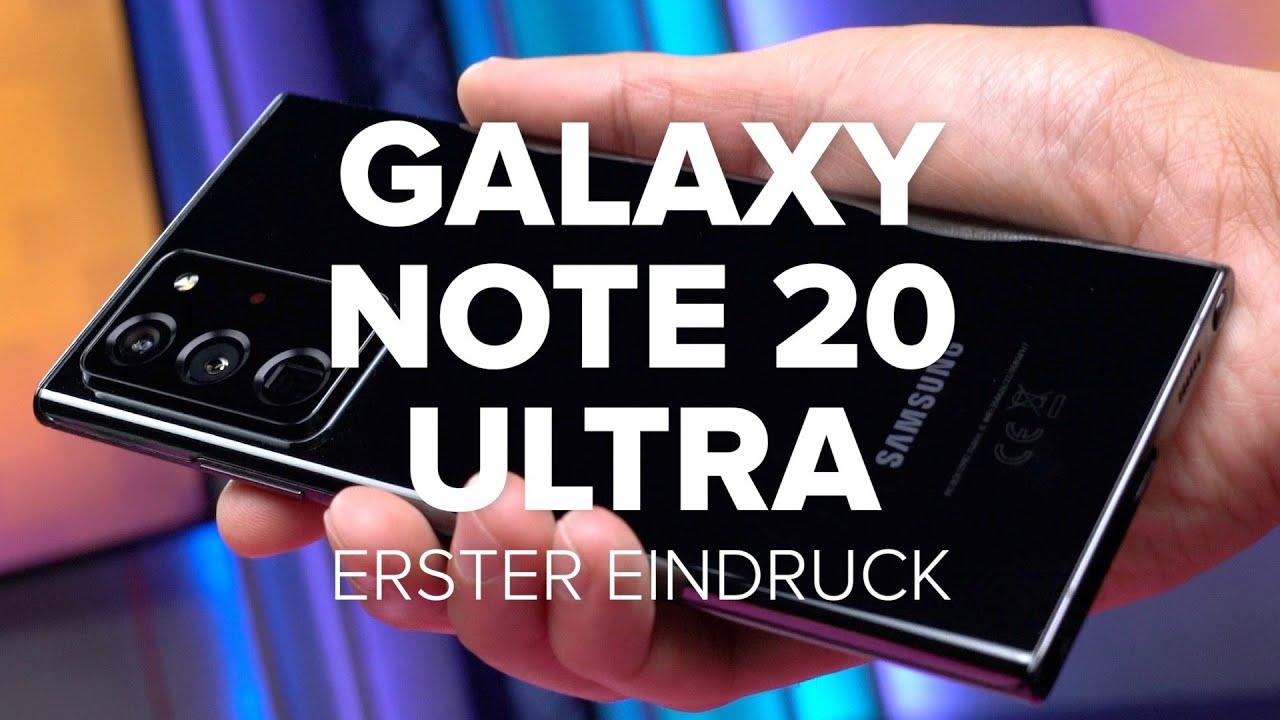 Alles neu oder der Linie treu?   Galaxy Note 20 Ultra im ersten Eindruck   Computer Bild [deutsch]