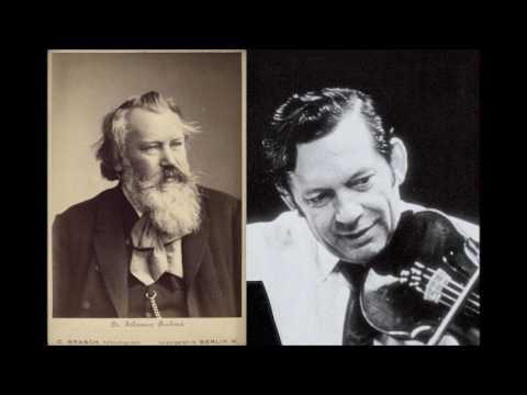 Arthur Grumiaux, Brahms Violin Concerto in D major Op.77