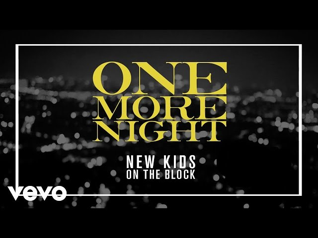 New Kids On The Block - One More Night