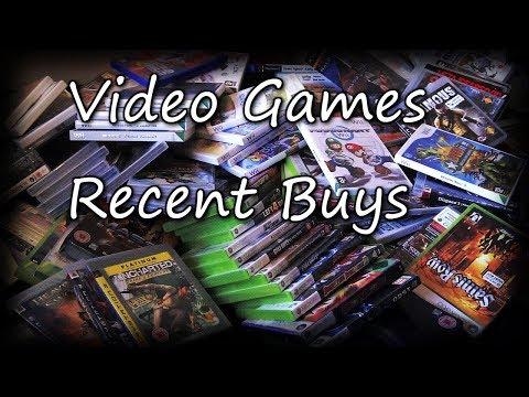 Video Games Recent Buys   Beezer Bargains