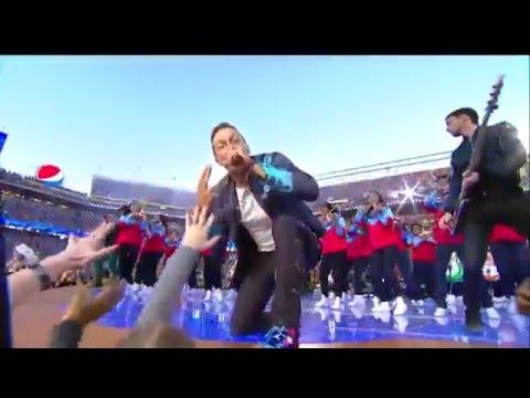 Super Bowl 50 / Show de medio tiempo 2016/ hq