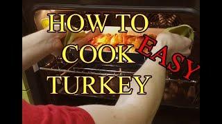 Как приготовить индейку в духовке с овощами (ЖМИ субтитры) #индейка #ВДуховке #HowTo #Cook #Turkey