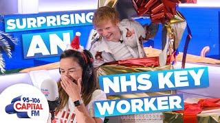Ed Sheeran Surprises NHS Key Worker Who Lost Christmas 🎁 | Capital