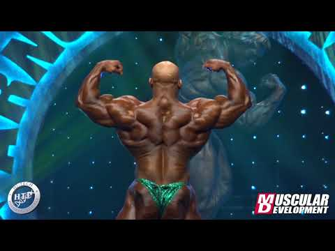 2020 Arnold Classic - Big Ramy Posing Routine - Finals