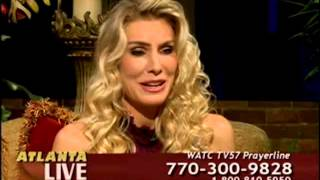 Kelly Greyson on ATLANTA LIVE talking about Alone Yet Not Alone