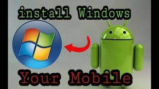 How to Change Android to Windows on your Mobile