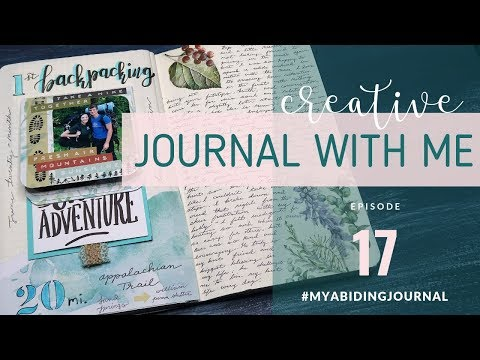 CREATIVE JOURNALING SESSION // Journal With Me 16  // Traveler's Notebook