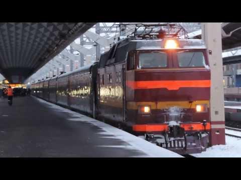 ЧС2т-1034 с поездом Санкт-Петербург — Владикавказ