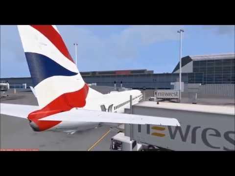 [FSX] CAW623 | FACT (Cape Town) - FAOR (Johannesburg) | PMDG 737 | Part 1