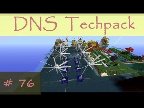 Minecraft DNS Techpack » #76 « Erweiterung des Offshore Windparks und der zentralen Steuerung