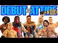 DEBUT ATTIRE - WWE Action Figures From Mattel