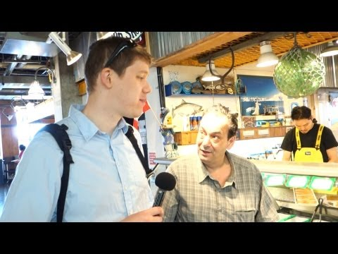 Awesome Food at Lonsdale Quay Market in North Vancouver BC Canada - geoffmobile