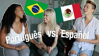 Portuguese vs Spanish with DamonAndJo!