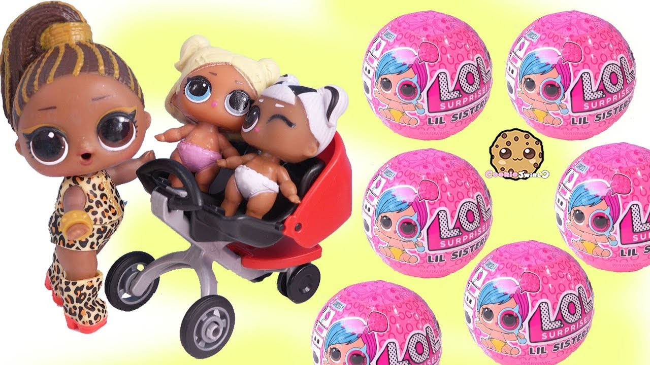 LOL Surprise LiL Sisters L.O.L BABY CAT SERIES 2 COLOR CHANGE dolls toys