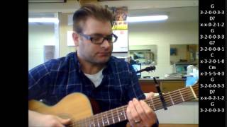 "How to play ""Spanish Eyes"" by Engelbert Humperdinck on acoustic guitar"