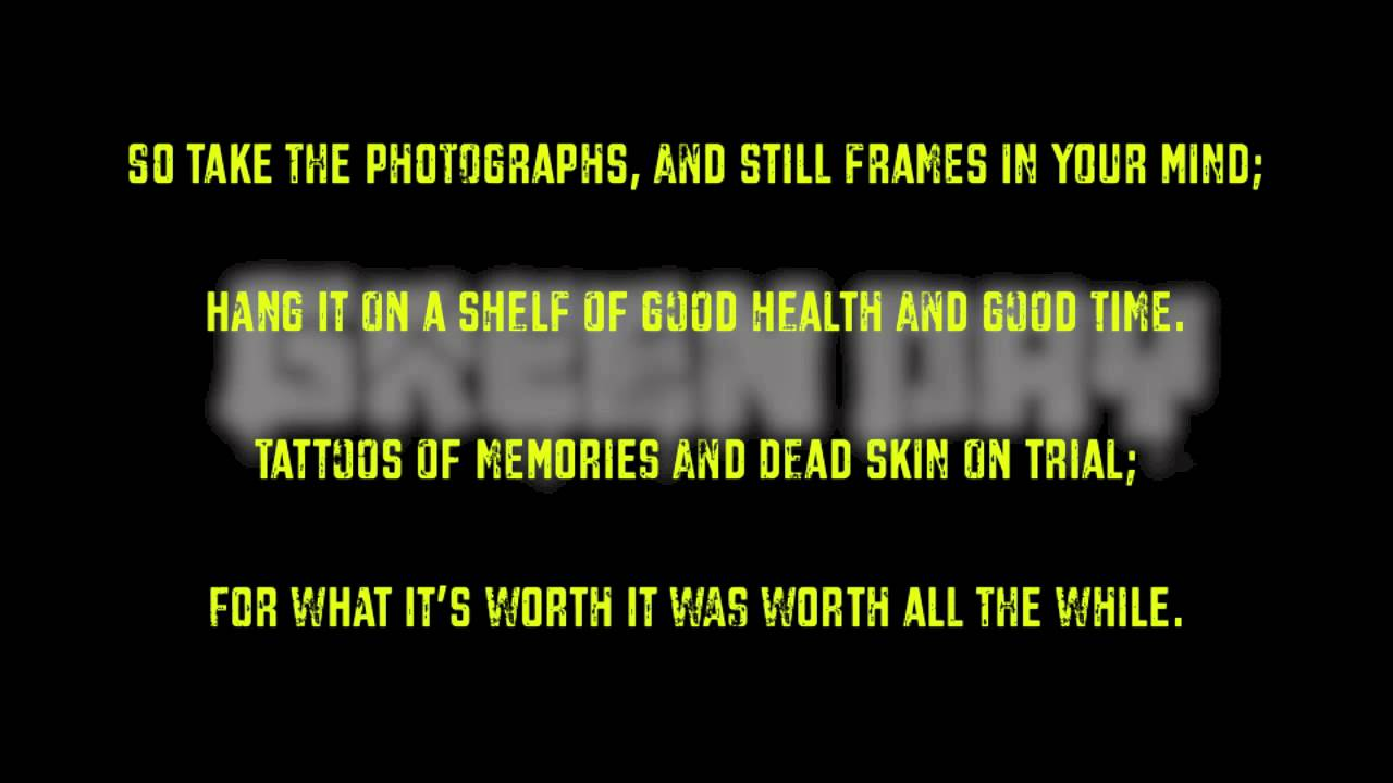 Green Day - Good Riddance (Tim...