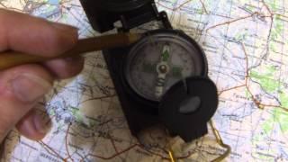 Работа с топографической картой (часть 5 из 5)