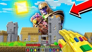 FINDING THANOS IN MINECRAFT!